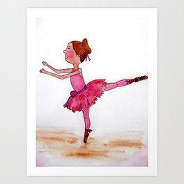 The Little Ballerina Art Print