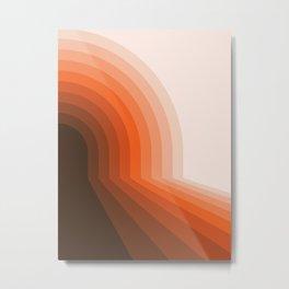 Desert Dusk Halfbow Metal Print