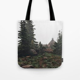 Timberline Lodge Tote Bag