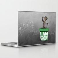 groot Laptop & iPad Skins featuring Baby Groot by Variable