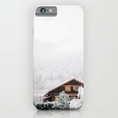 Annecy under the snow - French Alps iPhone 6 Slim Case