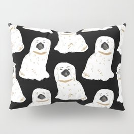Staffordshire Dog Figurines No. 1 in Black Pillow Sham