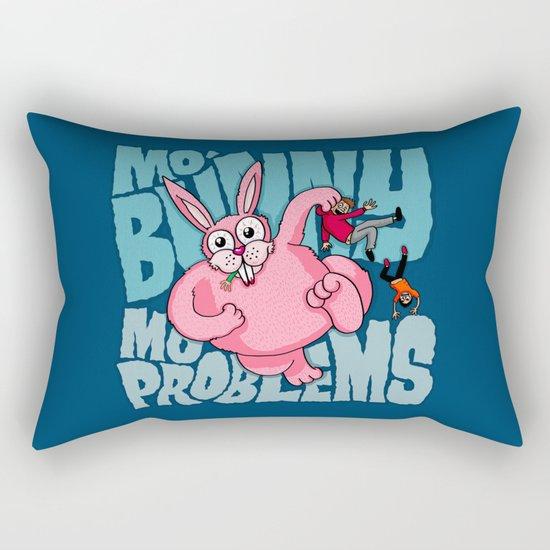 Mo Bunny... Rectangular Pillow