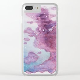 We Are Made of Heavens 02 Clear iPhone Case