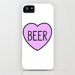 Beer Heart iPhone Case