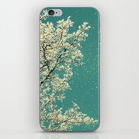 snow iPhone & iPod Skins featuring snow by Claudia Drossert