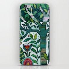 Leafy Garden iPhone Skin