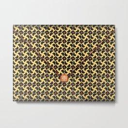 Gilded Cage Envelope Metal Print