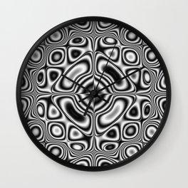 Kaleidoscopic pattern Wall Clock