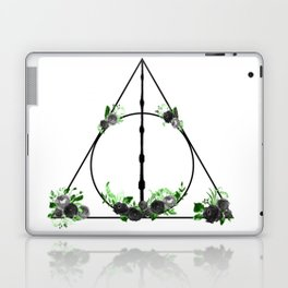 Deathly Hallows in Green and Gray Laptop & iPad Skin