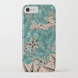 Synchro Fractals iPhone Case