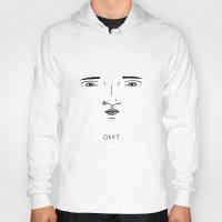 okay Hoodies featuring Okay by Drew Butler