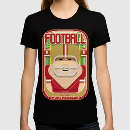 American Football Red and Gold - Enzone Puntfumbler - Josh version T-shirt
