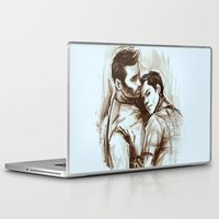 sterek Laptop & iPad Skins featuring sterek by AkiMao