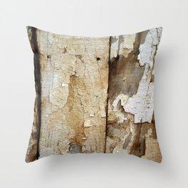 Peeled Throw Pillow