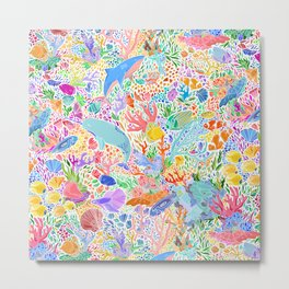 A Narwhal of a Time Metal Print