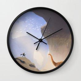 Ancient Land Wall Clock