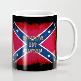 Heritage, not Hatred - US Southern Cross Flag Coffee Mug