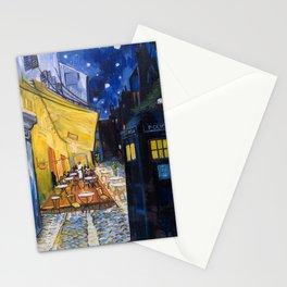 Vincent's Café with TARDIS Stationery Cards