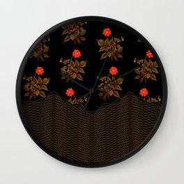 Autumn 17 Wall Clock