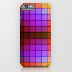 Tagged Autumn Plaid no21 Slim Case iPhone 6s