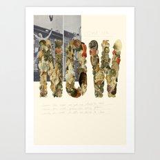 NOW! Art Print