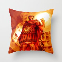 Julius Caesar Throw Pillow