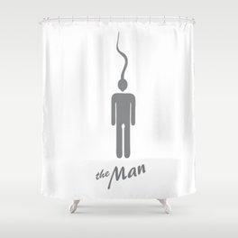 The Man Shower Curtain