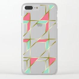 Ultra Deco 1 #society6 #ultraviolet #artdeco Clear iPhone Case
