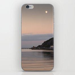 Swansea Bay by moonlight iPhone Skin