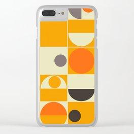 PANTON ORANGE Clear iPhone Case