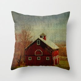 Shawangunk Farm Throw Pillow