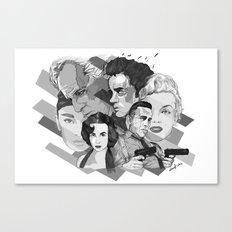 Legandary Six Canvas Print