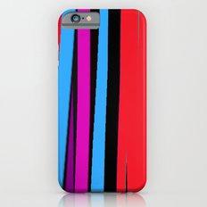 80's Stripes iPhone 6s Slim Case