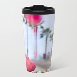Crystal  Metal Travel Mug