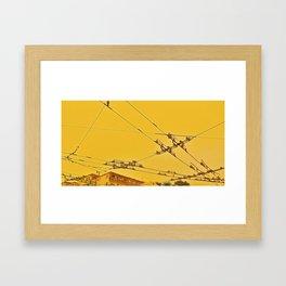 Malla Framed Art Print