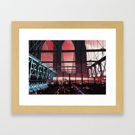 Untitled.48 | Light Series  Framed Art Print