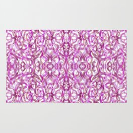 Floral abstract background G25 Rug