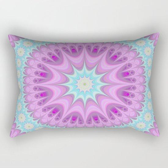 Girly mandala Rectangular Pillow
