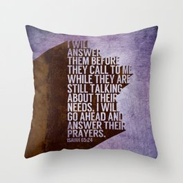 ANSWERS Throw Pillow