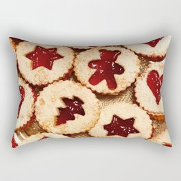 Christmas Cookies Pattern! Rectangular Pillow