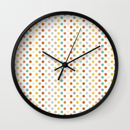 Polka Up Wall Clock