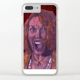 Laura Palmer Clear iPhone Case