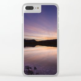 Pahranagat National Wildlife Refuge Sunset #2 Clear iPhone Case