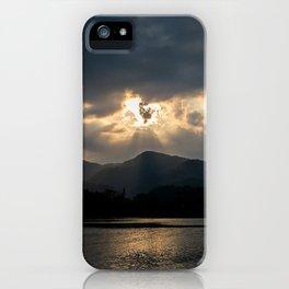 Shining Eye on the Sky iPhone Case