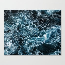 Wrath of the Dark Tempest Ocean Canvas Print