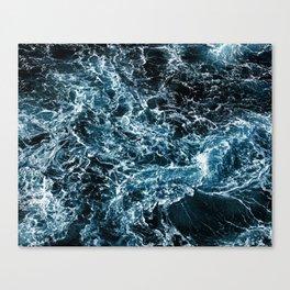 Wrath of the Dark Tempest Ocean Canvas Print