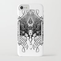 goddess iPhone & iPod Cases featuring Goddess by 6amcrisis