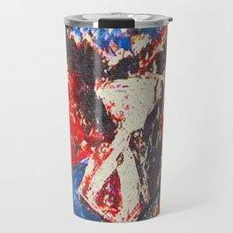 女性着物着て (woman wearing kimono) Travel Mug