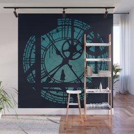 Clocktower Hideaway Wall Mural